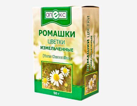 Цветы ромашки для лечения кашля у детей