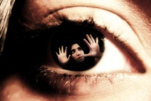 паника в глазах