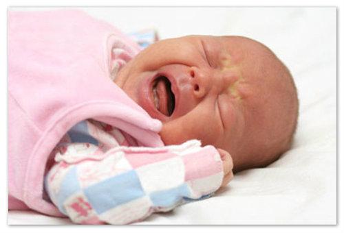 Плачущий малыш