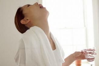 Рецепт полоскания горла содой и солью при ангине