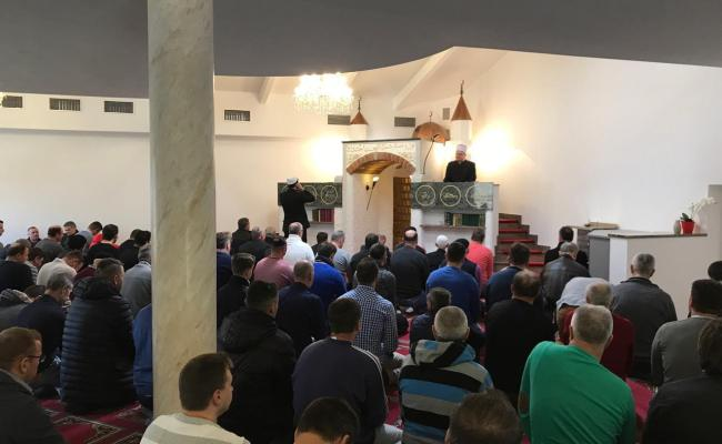 Muftija Aziz Hasanović održao hutbu u džematu Wels, Austrija