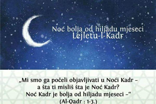 Program obilježavanja 27. noći Ramazana u MIZ Sisak