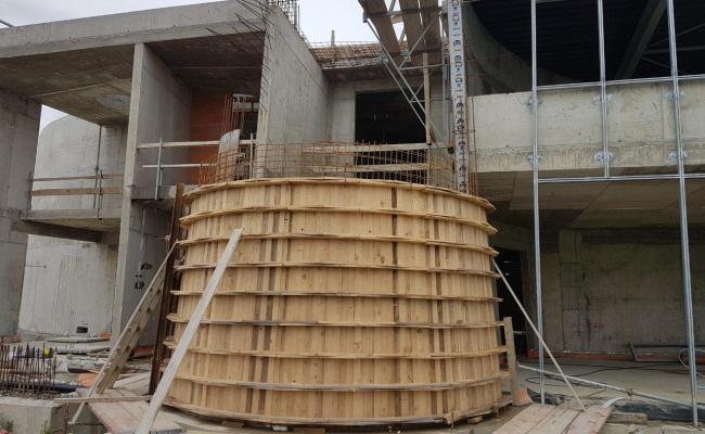 Ramazan donosi najljepše-izgradnju minareta IKC-a Sisak i završetak kupole