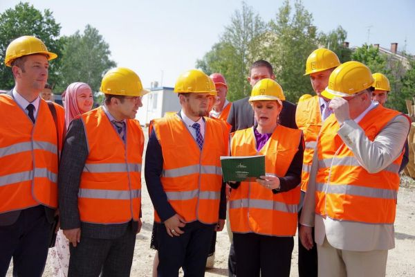 Predsjednica RH posjetila gradilište IKC-a Sisak