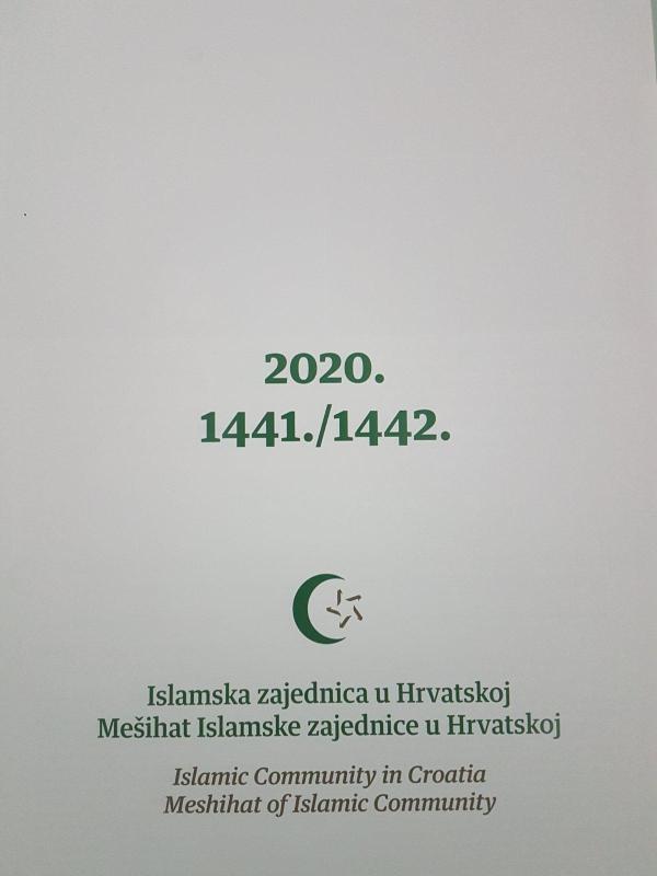 Kalendari Mešihata islamske zajednice u Hrvatskoj za 2020./1441.-1442.h.g.