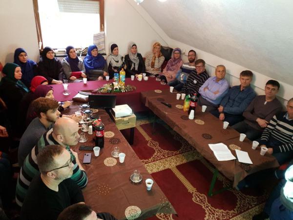 """U MIZ Sisak održan seminar """"Konekcija sa čudom Kur'ana"""""""