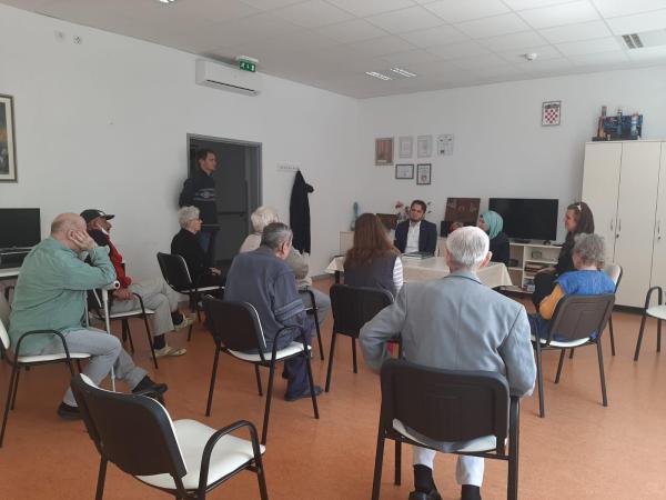 Povodom bajrama posjećeni korisnici Doma za starije osobe u Glini