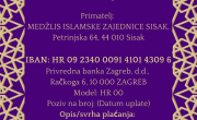 Uplate za potresom pogođene na području MIZ Sisak