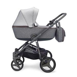 Mee-go Santino Urban Grey Carrycot