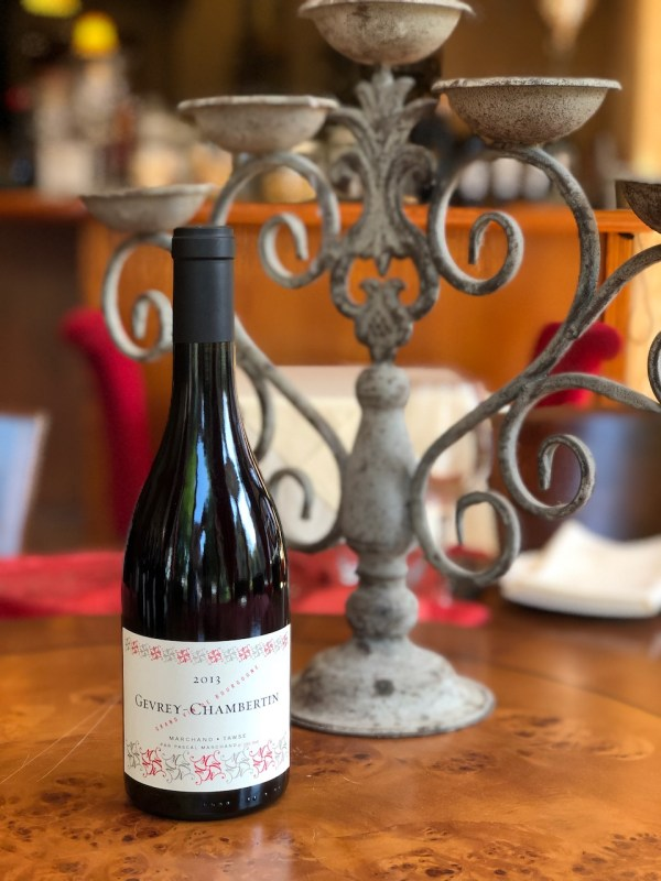 """Gevrey Chambertin """"Les Roncevies"""" 2013 (Marchand Tawse)"""