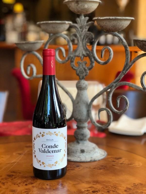 Rioja Crianza 2016 (Conde Valdemar)