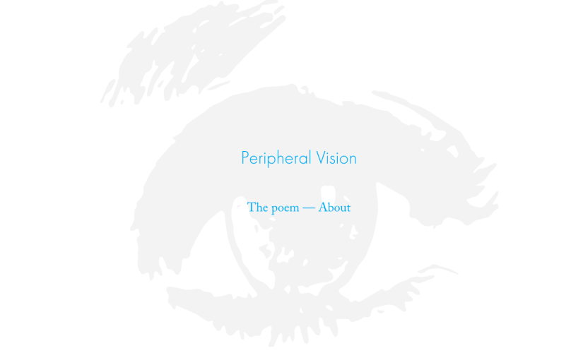 Peripheral Vision E-BOOK now live online