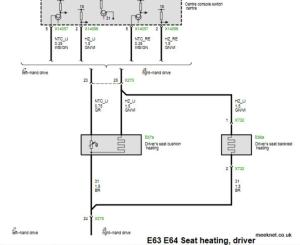 Timm's BMW E63 and E64 Heated Seat Problems