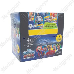 2016-17 Topps UEFA Champions League Match Attax Soccer Booster box