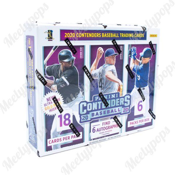 2020 Panini Contenders Baseball box