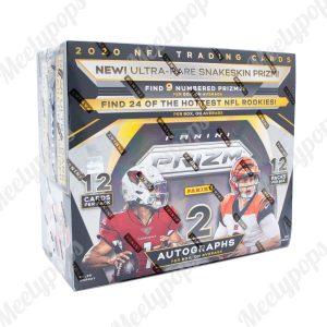 2020 Panini Prizm Football 12 pack Sealed Box
