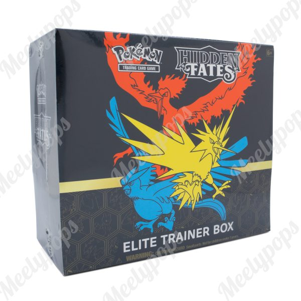Pokemon Sun and Moon Hidden Fates Elite Trainer Box