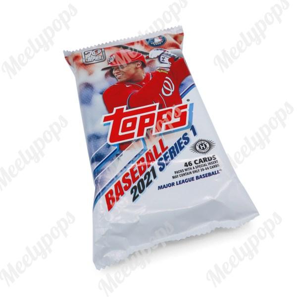 2021 Topps Series 1 Baseball Jumbo pack
