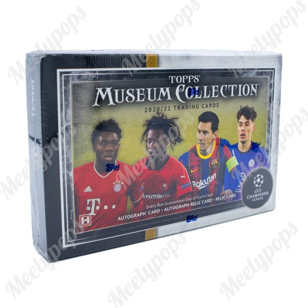 2020-21 Topps Museum Collection Soccer box