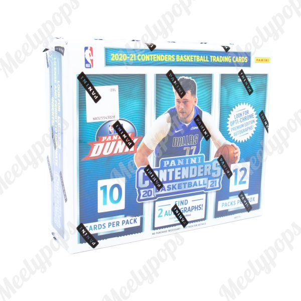 2020-21 Panini Contenders Basketball Box
