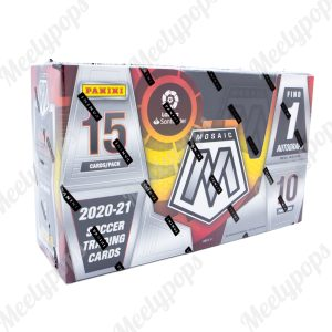 2020-21 Panini Mosaic LA Liga Soccer box