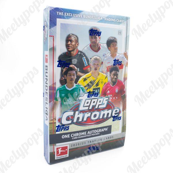 2020-21 Topps Chrome Bundesliga Soccer box