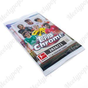 2020-21 Topps Chrome Bundesliga Soccer pack