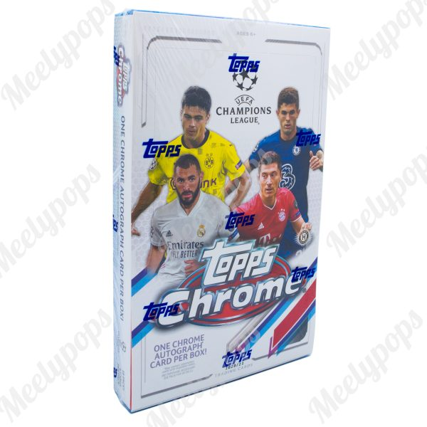 2020-21 Topp UEFA Champions League Chrome Soccer box