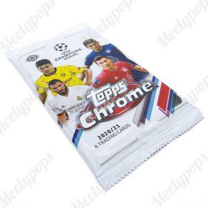 2020-21 Topps UEFA Champions League Chrome Soccer pack