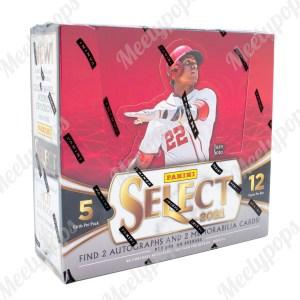 2021 Panini Select Baseball box
