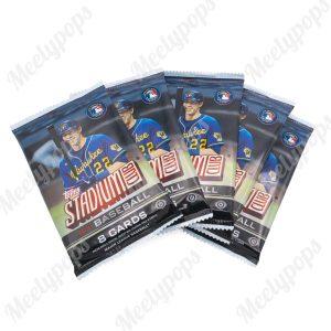 2021 Topps Stadium Club baseball 5 pack