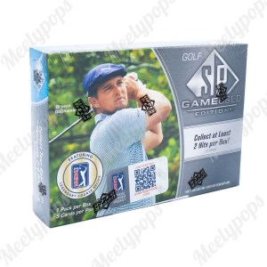 2021 Upper Deck SP Game Used Golf Box