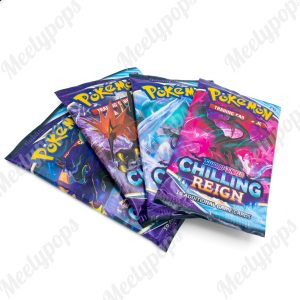 Pokemon Sword and Shield Chilling Reign Booster 4 pack
