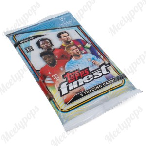 2020-21 Topps Finest UEFA Champions League Soccer pack