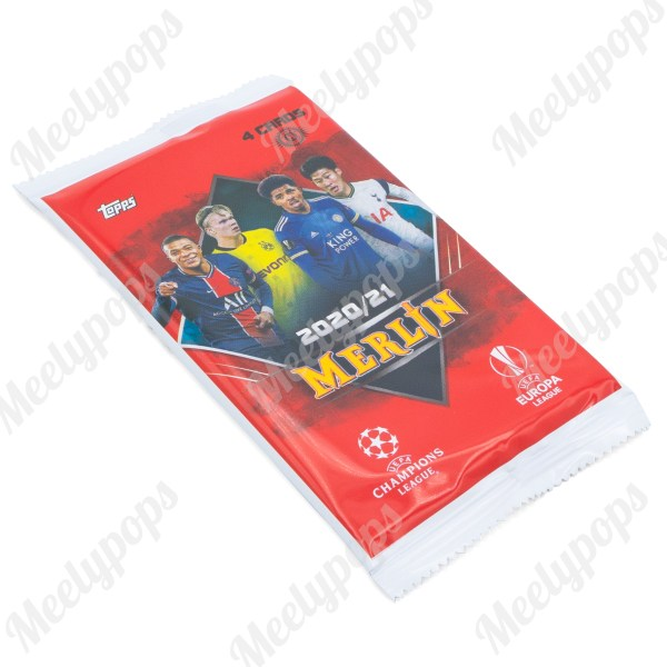 2020-21 Topps Merlin Chrome Soccer pack