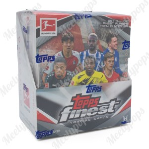 2020-21 Topps Finest Bundesliga Soccer Box