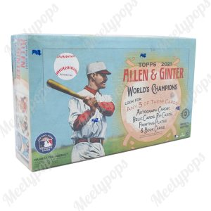 2021 Topps Allen and Ginter Baseball box