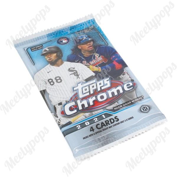 2021 Topps Chrome Baseball pack
