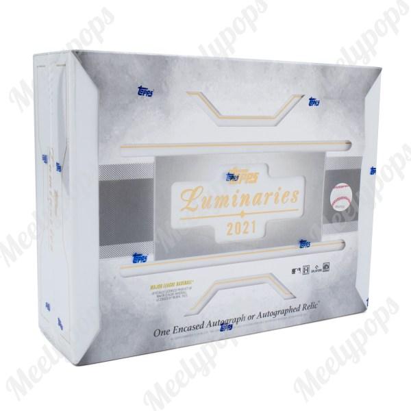 2021 Topps Luminaries Baseball box