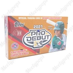 2021 Topps Pro Debut Baseball box
