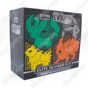 Pokemon Sword and Shield Evolution Skies Elite Trainer box