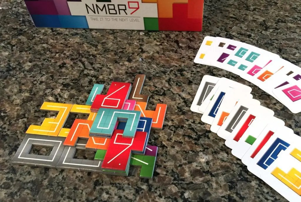 NMBR 9 Review   Meeple Mountain NMBR 9 at games end