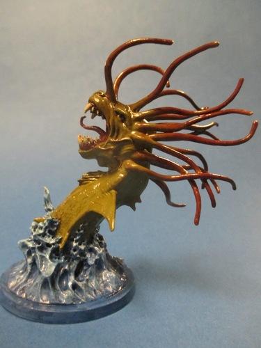 Pedazo de serpiente marina personalizada de Blood Rage