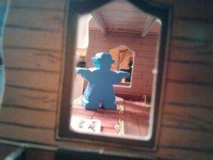 Colt Express. Ladrón desde la ventana.