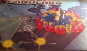 Pandemia. Personajes y enfermedades.