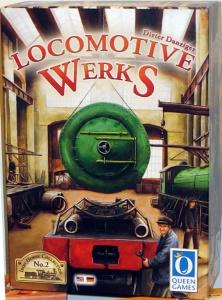 Locomotive Werks. Caja del juego.