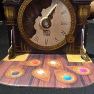 Mysterium. Detalle del reloj.
