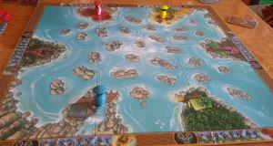 River Dragons. Comienzo de partida a 3.