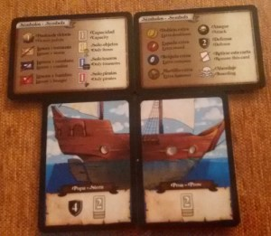 El tesoro de isla Tortuga. Barco inicial.
