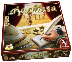 Mombasa. Caja del juego.